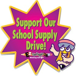 Support our School Supply Drive